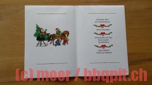 Weihnachtsmenü 2012 (Weihnachtsabend)